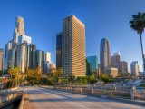 California, Los Angeles, Downtown, USA Photographic Print by Alan Copson