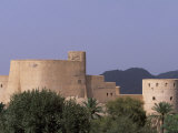 First Rustaq Fort Was Built by the Persians in the Pre-Islamic Period, Oman Photographic Print by John Warburton-lee