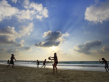 Beach, Tel Aviv, Israel Photographic Print by Michele Falzone