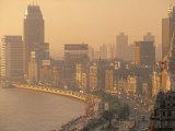Bund, Shanghai, China Photographic Print by Walter Bibikow