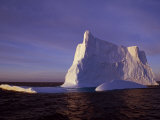 Bransfield Strait, Iceberg at Sunset, Antarctica Photographic Print by Allan White