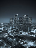 California, Los Angeles, Skyline of Downtown Los Angeles, USA Fotografie-Druck von Michele Falzone