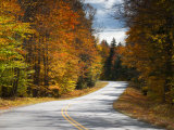 New Hamphire, White Mountains National Forest, Bear Notch Road, USA Photographic Print by Alan Copson