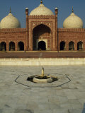 Completed by Mughal Emperor Aurangzeb, Badshahi Mosque Can Accommodate 60, 000 Worshippers Photographic Print by Amar Grover