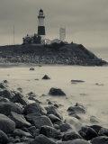 New York, Long Island, Montauk, Montauk Point Lighthouse, USA Reproduction photographique par Walter Bibikow