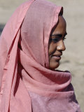 Nubian Women Wear Bright Dresses and Headscarves Even Though They are Muslims Photographic Print by Nigel Pavitt