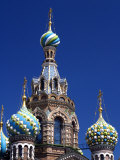 St Petersburg, the Church on Spilt Blood, Russia Photographic Print by Nick Laing