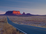 Arizona-Utah, Monument Valley, USA Photographic Print by Alan Copson