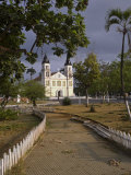 Sé Cathedral in the City of Sao Tomé, it Was Built at the Turn of the 19th Century Photographic Print by Camilla Watson