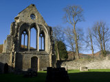 Denbighshire, Llangollen, the Striking Remains of Valle Crucis Abbey, Wales Photographic Print by John Warburton-lee