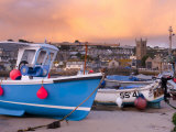 England, Cornwall, St Ives Harbour, UK Photographic Print by Alan Copson