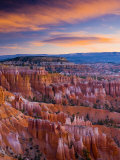 Utah, Bryce Canyon National Park, from Sunset Point, USA Fotografie-Druck von Alan Copson