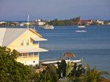Bay Islands, Utila, View of Bay, Honduras Photographic Print by Jane Sweeney