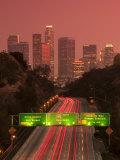 Alan Copson - California, Los Angeles, Route 110, USA Fotografická reprodukce