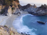 California, Big Sur Pacific Coastline, Julia Pfeiffer Burns State Park, Mcway Falls, USA Photographic Print by Michele Falzone