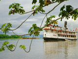 Ayapua Riverboat Making Way Up Amazon River at End of Earthwatch Expedition to Lago Preto, Peru Photographic Print by Paul Harris