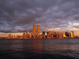 Manhattan, New York City, NY, USA Fotografisk tryk af Walter Bibikow
