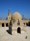 Courtyard of Ibn Tulun Mosque, the Largest and One of Oldest Mosques in Cairo, Egypt Photographic Print by Julian Love