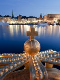 Stadsholmen Island and Gamla Stan from Skeppsholmen Bridge, Stockholm, Sweden Photographic Print by Michele Falzone