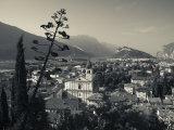 Trentino-Alto Adige, Lake District, Lake Garda, Arco, Collegiata Church, Italy Reproduction photographique par Walter Bibikow