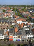 View from Nieuwe Kerk, Delft, Netherlands Fotografie-Druck von Ivan Vdovin