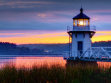 Maine, Doubling Point Lighthouse, USA Fotoprint van Alan Copson