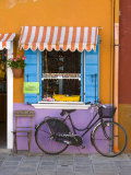 Shop Front, Burano, Venice, Italy Photographic Print by Doug Pearson