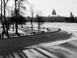 Winter, Saint Petersburg, Russia Fotodruck von Nadia Isakova