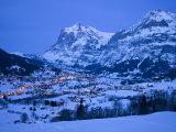 Grindelwald, Wetterhorn, Jungfrau Region, Bernese Oberland, Switzerland Photographic Print by Gavin Hellier