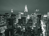 Chrysler Building and Midtown Manhattan Skyline, New York City, USA Photographie par Jon Arnold