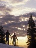 Washington, Ski Mountaineering in Chiwaukum Mountains, Alpine Lakes Wilderness, Washington State Photographic Print by Paul Harris