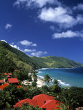 Cane Bay, St,Croix, Us Virgin Islands, Caribbean Photographic Print by Walter Bibikow