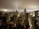 Vue du Chrysler Building et de Midtown Manhattan, New York City, États-Unis Reproduction photographique par Jon Arnold