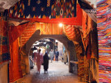 Morocco Marrakesh Medina Market at Place Djema El Fna Photographic Print by Christian Kober