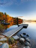 Maine, Baxter State Park, Lake Millinocket, USA Fotodruck von Alan Copson