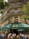 Les Deux Magots Restaurant, Paris, France Photographie par Neil Farrin