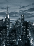 Chrysler Building und die Skyline von Midtown Manhattan, New York City, USA Fotografie-Druck von Jon Arnold