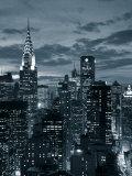 Edificio Chrysler y silueta de Midtown Manhattan, Ciudad de Nueva York, EE UU Lámina fotográfica por Jon Arnold