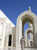 Muscat, the Grand Mosquea Is a Magnificent Example of Modern Islamic Architecture, Oman Photographic Print by Mark Hannaford