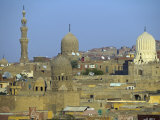 City of Dead, Cairo, Where Ruling Families of Medieval Cairo Built Mausoleums to Entomb their Dead Photographic Print by Julian Love