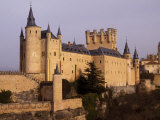 Segovia's Alcazar, or Fortified Palace, Originally Dates from the 14th and 15th Centuries Photographic Print by Amar Grover