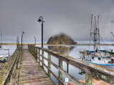 California, Morro Bay, Morro Rock, USA Photographic Print by Alan Copson