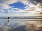 San Juan Del Sur, Playa Madera, Surfer, Nicaragua Photographic Print by Jane Sweeney