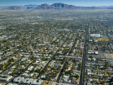 Nevada, Las Vegas, Suburbia, USA Photographic Print by Alan Copson