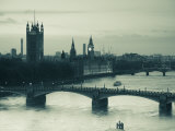 Houses of Parliament and River Thames, London, England, UK Photographie par Jon Arnold
