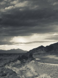 Mendoza Province, Uspallata, Mountain Light in Rio Mendoza River Valley, Argentina Photographic Print by Walter Bibikow