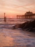 Southwold Pier at Dawn, Suffolk, UK Photographic Print by Nadia Isakova