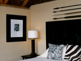 Stylish Bedroom Decor of Kwandwe Safari Lodge, Eastern Cape, South Africa Photographic Print by John Warburton-lee