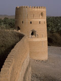 Watchtower of the Old Fort in the Village of Afi Sefalah Photographic Print by John Warburton-lee