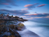 Maine, Pemaquid Peninsular, Pemaquid Point Lighthouse, USA Photographic Print by Alan Copson